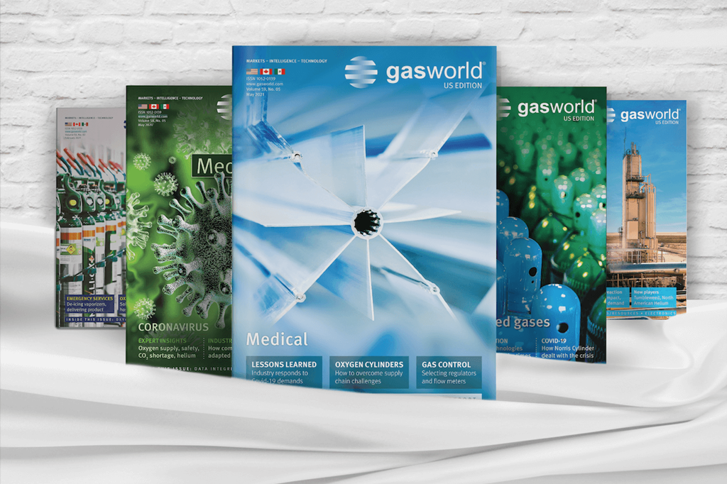 gasworld US magazines covers 2021 covers