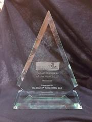 The exporter of the year trophy
