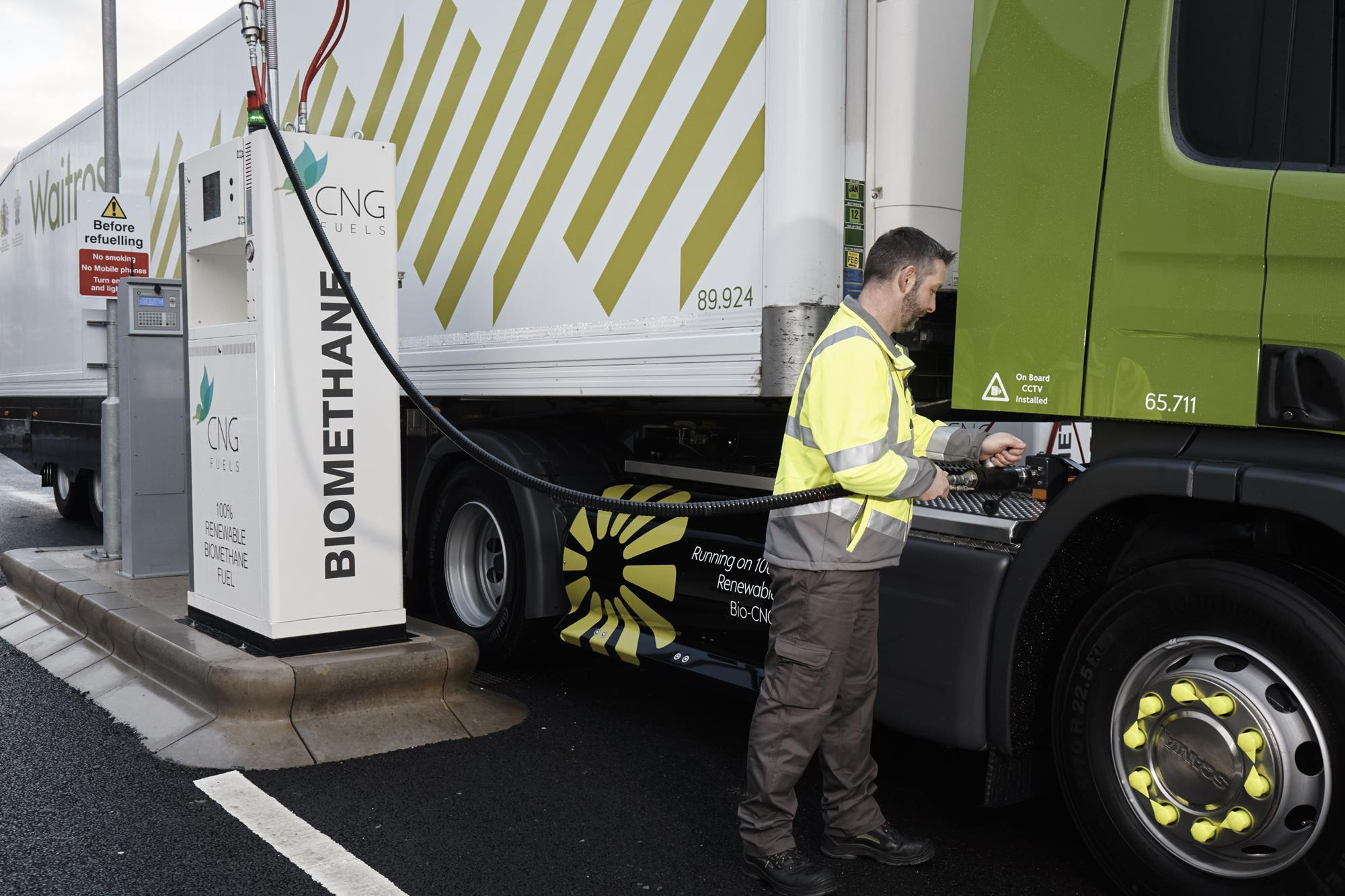 CNG Fuels takes part in large-scale study of biomethane fuel for