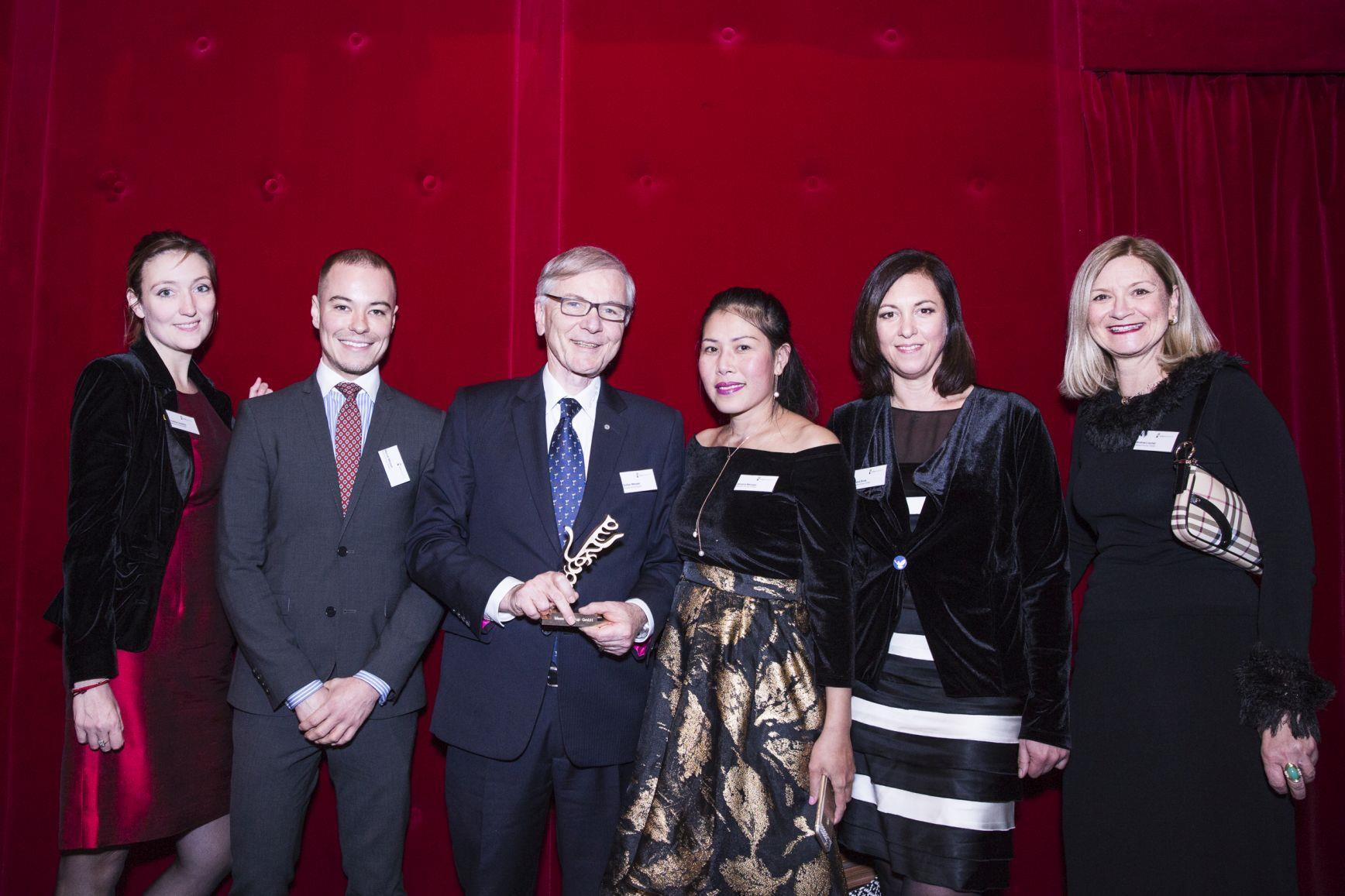 Messer Bestowed With Axia Award