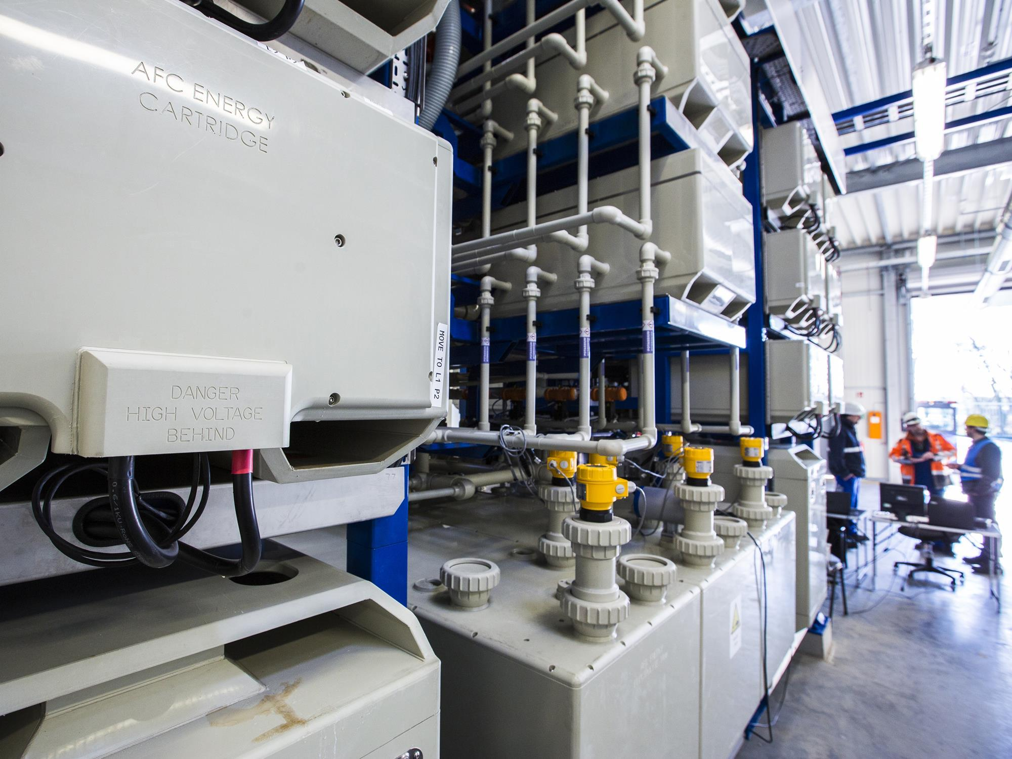 AFC Energy fuel cells for H2 micro-grid   News   gasworld