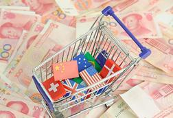 Financial world currency