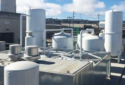 Air sep two asv45000 vpsa oxygen plants at a wastewater treatment facility in san francisco ca usa