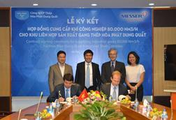 Messer signs contract for largest industrial gases site in vietnam