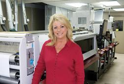 President and CEO, Karen Stevens, Label Solutions