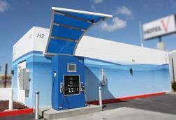 copyright california fuel cell partnership hydrogen fueling station.