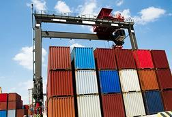 Containers distribution docks