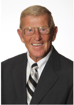 Renowned football coach, Lou Holtz