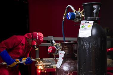 Afrox acetylene in confined spaces