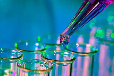 Pipette test tubes laboratory