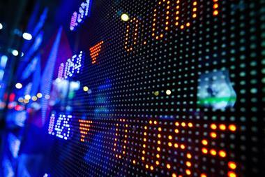 Crisis, management, stock-market-price-display-abstract