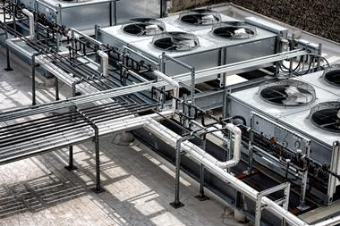 outside air conditioning system