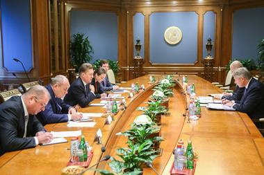 Gazprom and linde meeting