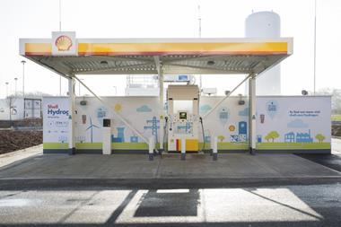Cobham hydrogen fuelling station itm power shell