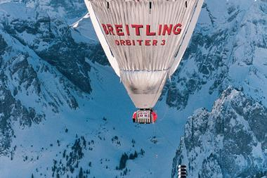 The breitling orbiter 3 cropped