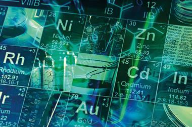 Spec-gases-Laboratory-Periodic-table-of-elements-and-laboratory-tools.-Science-concept-2