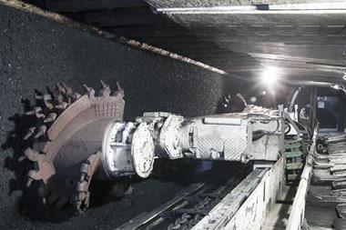 Coal mining industry