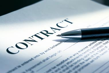 merger acqusition contract concept
