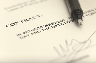 contract business deal