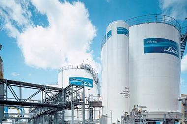 Linde Gas Production