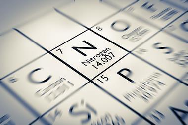 nitrogen gases periodic table
