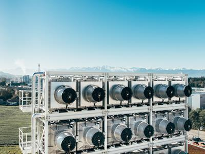 Climeworks and The Economist Group team up on CO2 removal