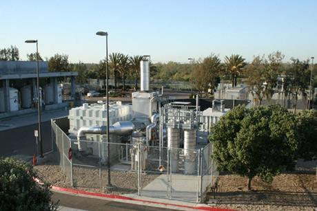 FuelCell Energy 1.4 MW power station