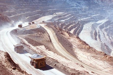 Nitrogen in copper mining .