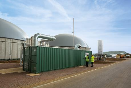 Air liquide biogas spridlington ©james bastable