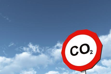 Carbon dioxide CO2 green