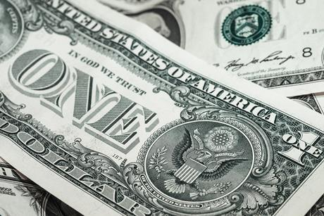 Us dollar currency financial money america