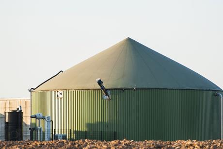 Green, Tank for biomass, to-produce biogas