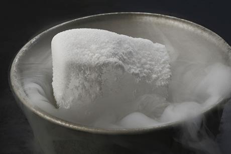 Dry ice carbon dioxide