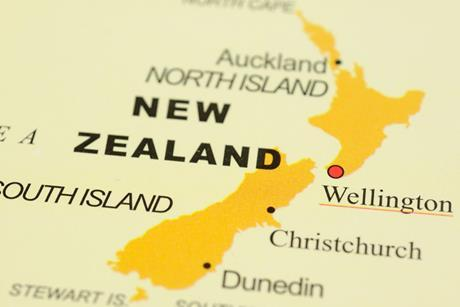 New Zealand-map