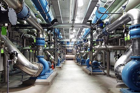 Water treatment facility green
