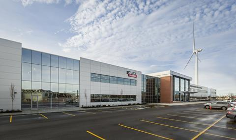 The new Welding Technology and Training Center in Cleveland.
