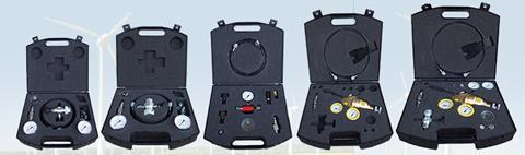 Hydrotechnik gas charging kit range
