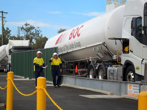 1000th shipment being filled at boc micro lng plant in condamine queensland