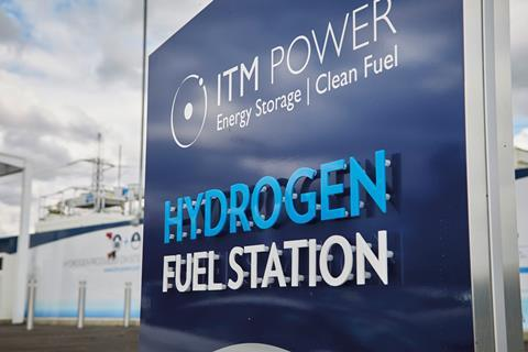ITM Power clean and green hydrogen