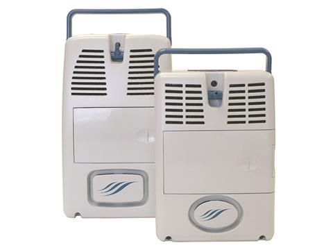 Air sep free style and free style 5 product photo caire portable o2 oxygen concentrator range cropped