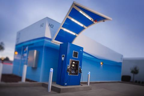 South san francisco true zero hydrogen station