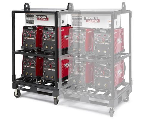 Lincoln Electric 4-pack rack