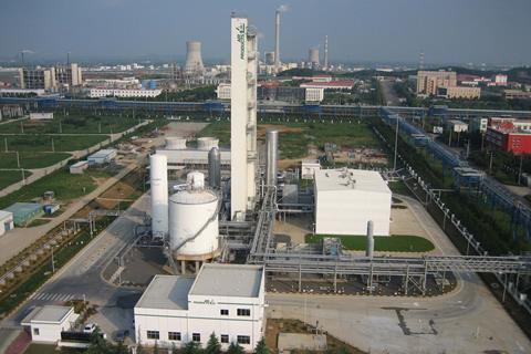 Air products asu in china