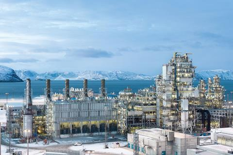 Europe's largest LNG plant