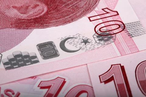 Turkey turkish money currency finance