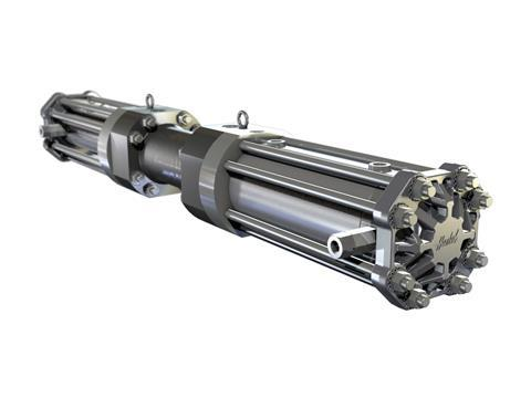 Haskel h2 gas booster
