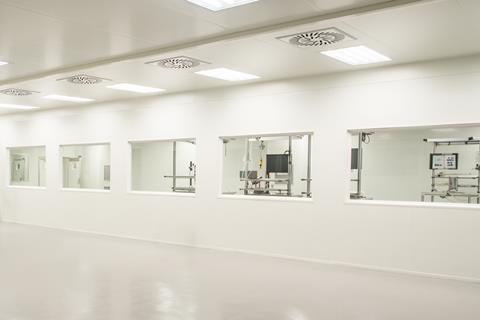 Pergola new cleanroom