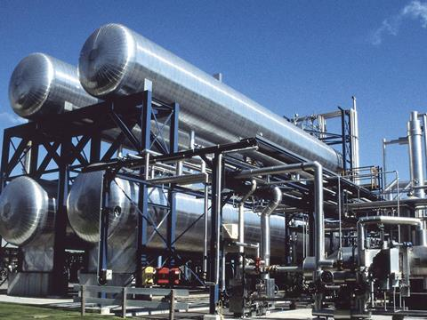 August 2014 CO2 Production Plant