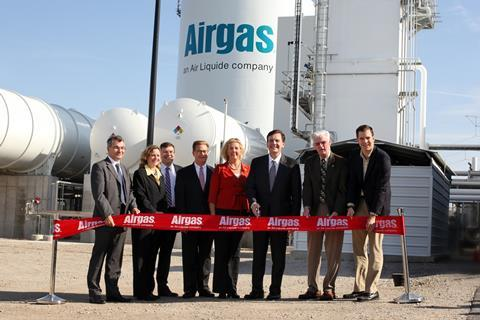 Airgas minooka illinios asu ribbon cutting
