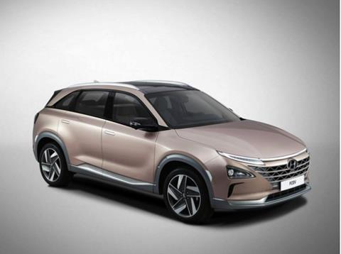 Hyundai's latest H2-powered fuel cell vehicle